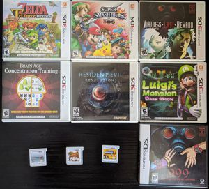 3DS Games Like New for Sale in Richmond, TX