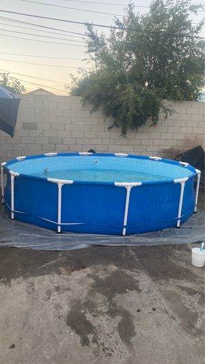 12x30 Intex Pool used in good condition for Sale in Pomona, CA