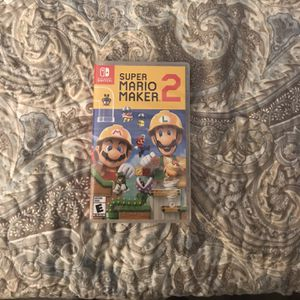 Super Mario Maker 2 for Nintendo Switch for Sale in Riverside, CA