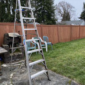 8' Aluminum Ladder for Sale in Tacoma, WA