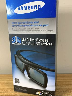 Samsung 3D Active Glasses SSG-3050GB For Smart TV NIB. for Sale in Columbus, OH