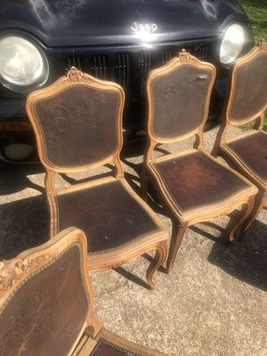 Four Old vintage chairs for Sale in Roswell, GA