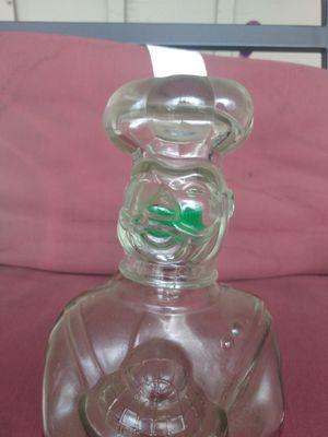VINTAGE BOTTLE OF CHIEF BOYAEDEE GLASS for Sale in Wheat Ridge, CO