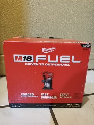 Milwaukee Router Brushless Fuel M18 for Sale in Norwalk, CA