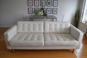 IKEA leather sofa for Sale in San Francisco, CA