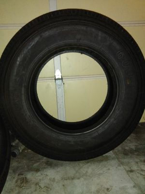 2 Amberstone tires 600 295/75R22.5 for Sale in Azusa, CA