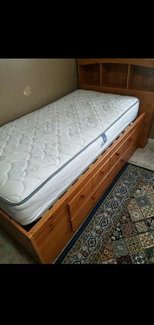 Bed Frame /Head Rest / Mattress (optional) for Sale in Kansas City, MO
