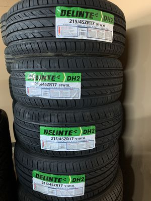 🔥new tires most small cars all four for under $299 we beat everyone's price visit us 32606 rd 124 Visalia 93291🔥🔥 for Sale in Visalia, CA