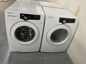SAMSUNG HIGH EFFICIENCY FRONT LOAD WASHER AND DRYER SET for Sale in Fort Mill, SC