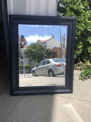 Black Framed Mirror for Sale in San Francisco, CA