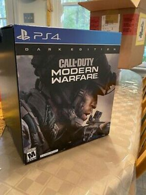 NEW Call of Duty: Modern Warfare Dark Edition PS4 Game/Night Vision Goggles UNOPENED for Sale in Cedar Rapids, IA