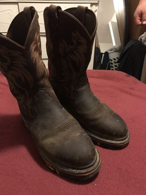 Cody James work boots size 10.5 for Sale in Bakersfield, CA
