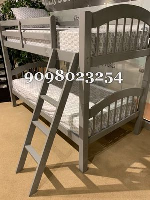 TWIN/TWIN BUNK BEDS W ORTHOPEDIC MATTRESS INCLUDED for Sale in Buena Park, CA