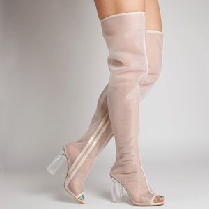 Nude Thigh Boots -Multiple Sizes for Sale in Cleveland, OH