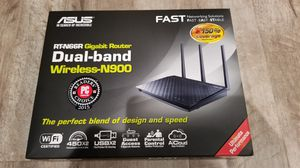 ASUS RT-N66R - Wireless router - 4-port switch - GigE - 802.11a/b/g/n - Dual Band for Sale in Sacramento, CA
