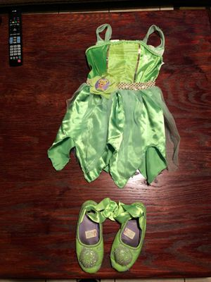 Tinker bell outfit for Sale in Fort McDowell, AZ