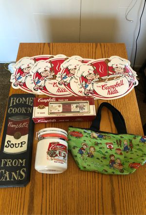 Vintage Campbells Soup Collection! for Sale in Norwalk, CA