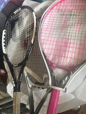 3 tennis rackets all for $15 for Sale in Lancaster, CA