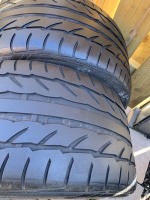 265 35 18 Bridgestone potenza 2 tires for Sale in Manassas, VA