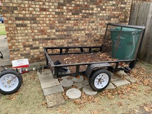 Trailer 6X4 FT NO TITLE REQUIRED for Sale in Cedar Hill, TX