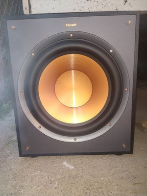 "Klipsch 12"" subwoofer speaker, home theater for Sale in West Jordan, UT"