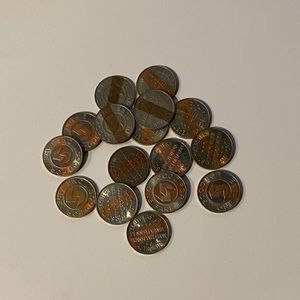SEPTA Tokens (Sixteen) for Sale in Seattle, WA