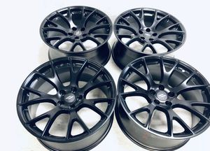 """20"""" Dodge Hellcat Challenger SRT Factory 20 Wheels Rims OEM Charger 2528 Black Price 1599.00 set Financing available no credit needed 25 down for Sale in Sterling Heights, MI"""