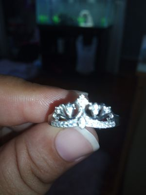 925 tarnish resistant sterling silver crown ring for Sale in Tampa, FL