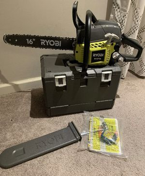 Ryobi Chainsaw 16 in. RY3716 37cc 2-Cycle Chain Saw price is firm for Sale in St. Petersburg, FL
