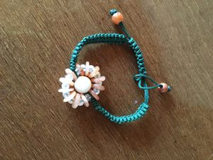 BEAUTIFUL SILK KNOTTED JADE FLOWER BRACELET for Sale in Joint Base Lewis-McChord, WA