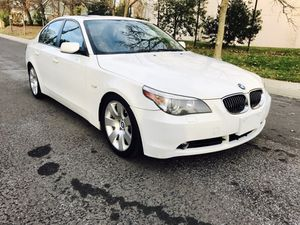 2007 BMW 530i ::: Navigation:: black leather for Sale in Rockville, MD