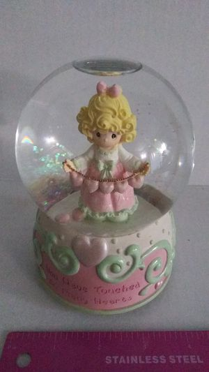 Precious moments 2001 musical water globe #5 for Sale in Richardson, TX