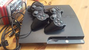 Playstation 3 with 10 games + xtra controller for Sale in Vista, CA