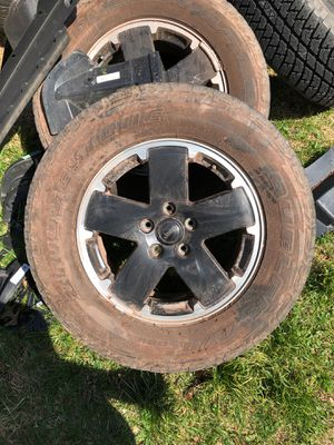 Free Free Jeep Wrangler wheels and tires for Sale in Centreville, VA