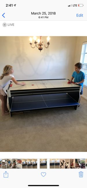 Harvard 3-1 Hockey, Ping Pong and Pool Table. for Sale in Port St. Lucie, FL