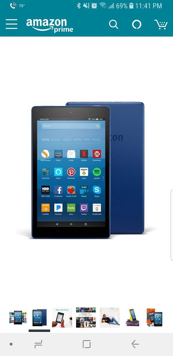 Amazon fire 8 HD tablet