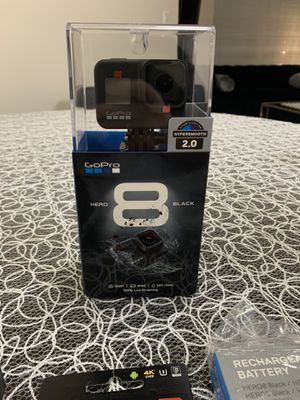GoPro Hero 8 Black and Accesories ( Brand New- Never Used) for Sale in Garfield, NJ