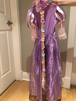 Disney Rapunzel Dress with Headpiece for Sale in Chicago, IL