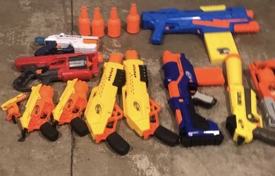 10 NERF GUNS for Sale in Camas,  WA