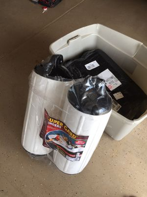 Protect that boat!!!! (4) Taylor Made Products 950824 Super Gard Inflatable Vinyl Boat Fender, 8.5 x 26 inch, White for Sale in Mesa, AZ
