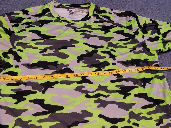 Bager Sport Long Sleeve Camo Shirt