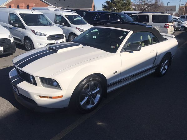 2007 Ford Mustang GT Premium Convertible with 49,971 miles for $12,998.