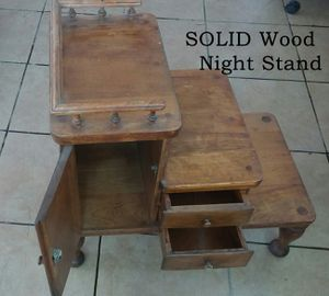 Solid wood night stand for Sale in Riverside, CA