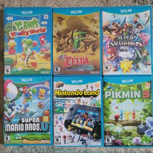 Wii U Games (All FIRST-PARTY Games) for Sale in Austin, TX