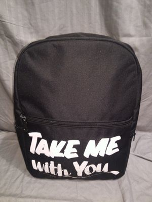 Black Take Me With You Backpack for Sale in Lawrenceville, GA