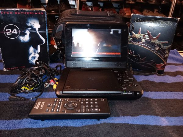 Sony Portable DVD with Accessories in New Condition