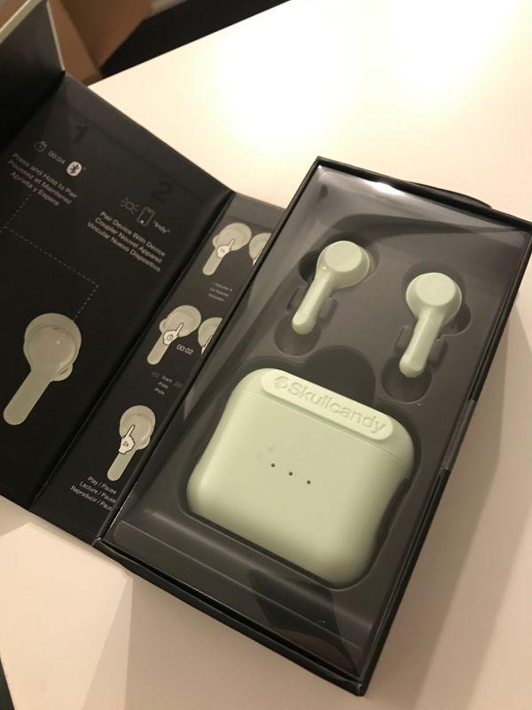 Skullcandy Wireless Bluetooth Headphone Mint Green Limited Edition