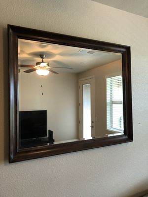 Wood frame mirror for Sale in Cohasset, CA