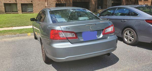 09 Mitsubishi Galant (Grey)