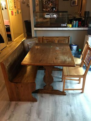 Kitchen table with storage for Sale in Federal Way, WA